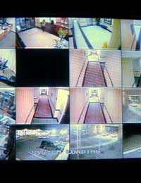 Cctv Monitoring Surveillance Cash